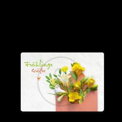 Postkarte Frühlingsgrüße